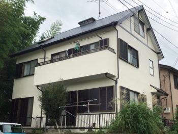 東金市 K様 外壁・屋根 雨漏りリフォーム事例