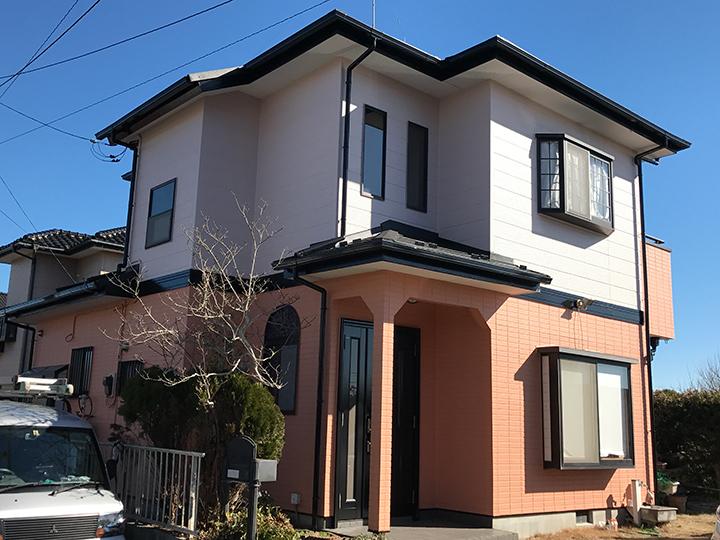 山武市 K様 外壁塗装・屋根 葺き替えリフォーム施工事例