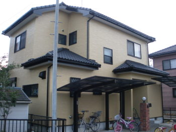 大網白里市 H様 外壁塗装 施工事例