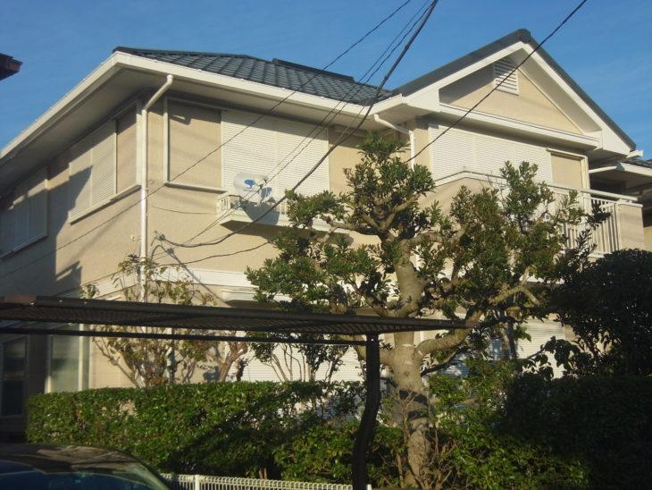 大網白里市 H様 外壁塗装 防水 破風板交換 施工事例