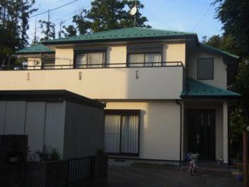 大網白里町 M様 外壁塗装 屋根ガルバ重ね葺き