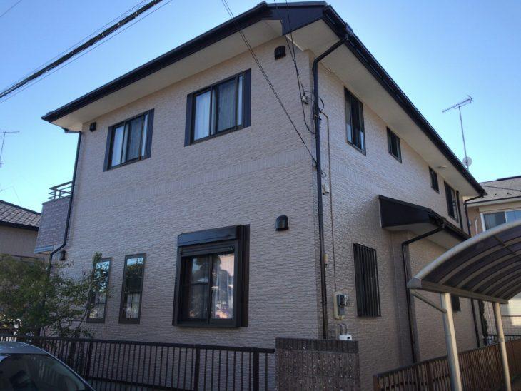 東金市 T様 外壁塗装 屋根塗装 ベランダ防水 施工事例