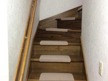 千葉市 T様 階段手摺り トイレ手摺り取付け 施工事例