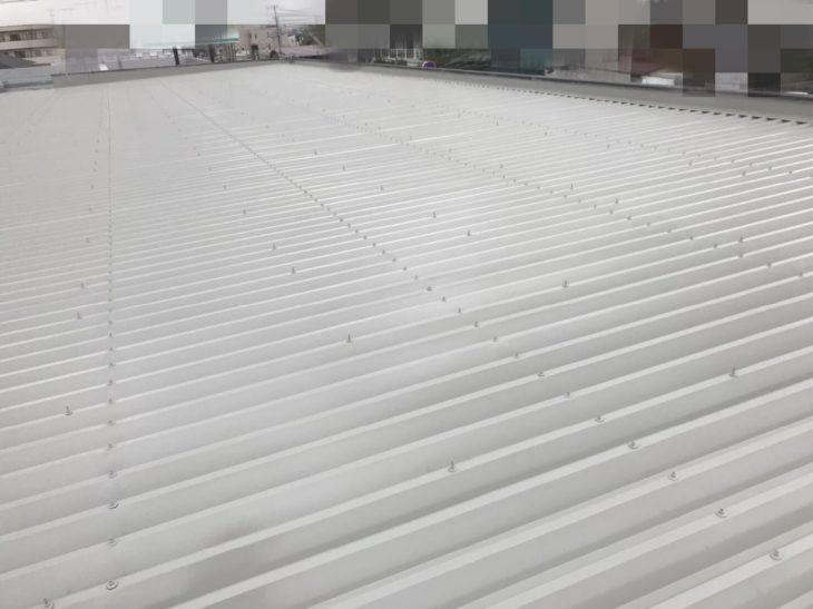 東金市 H様 店舗ビル 屋根塗装 施工事例