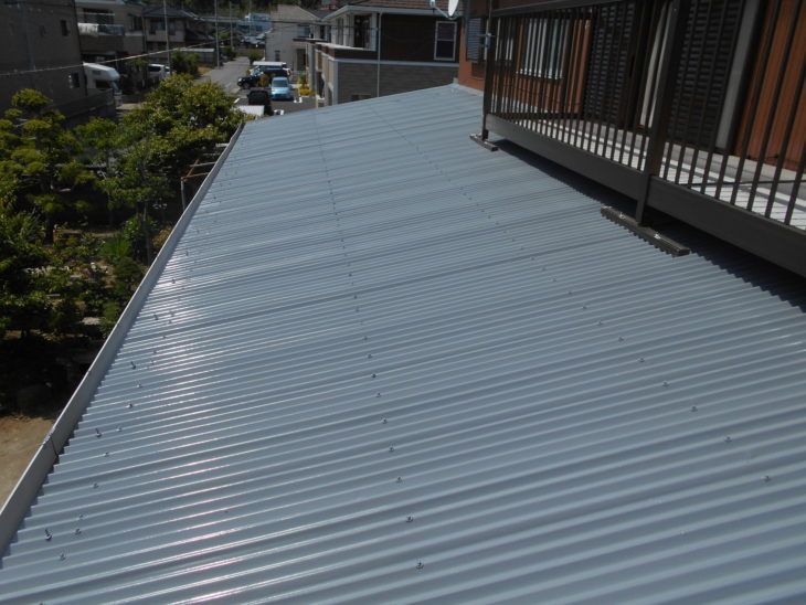 千葉県 東金市 F様 トタン 外壁 屋根塗装 施工事例