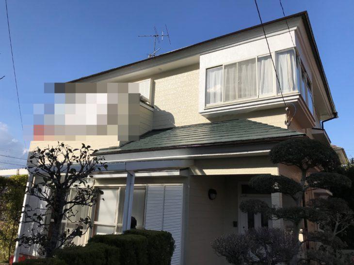 東金市 S様 外壁塗装 屋根塗装 施工事例 日本ペイント パーフェクトトップ