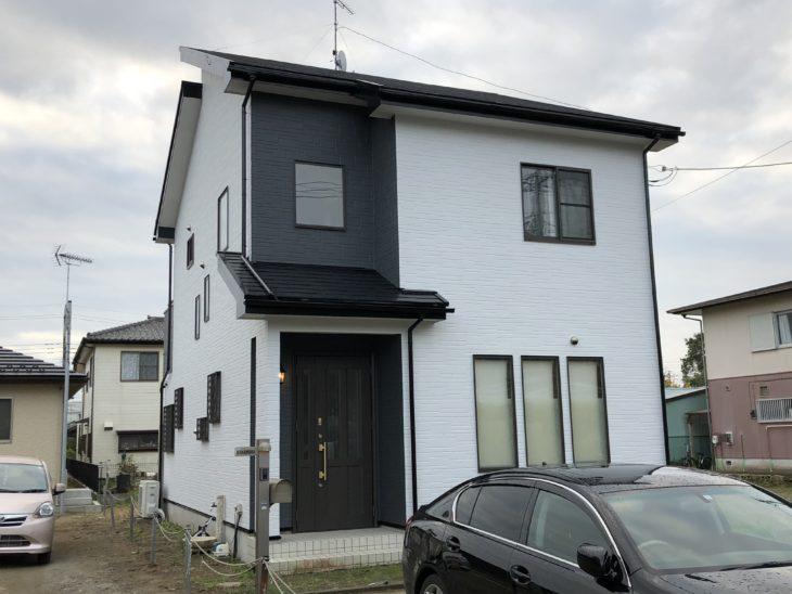 山武市 N様邸 外壁 ナノコンポジットW・屋根 スーパー遮熱サーモSi塗装