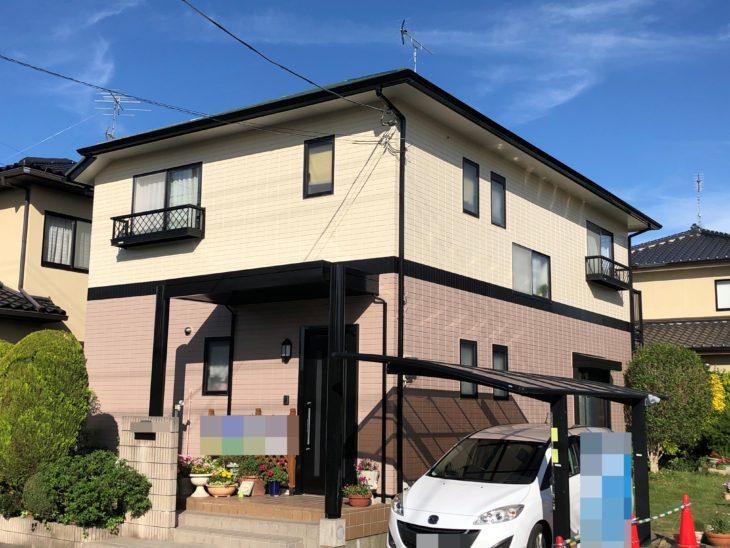 東金市 H様邸 外壁塗装 屋根塗装 施工事例