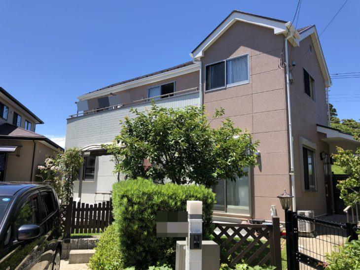 東金市 N様邸 外壁塗装 屋根塗装 施工事例