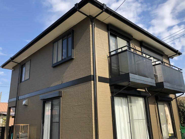東金市 S様邸 外壁塗装 屋根塗装 施工事例