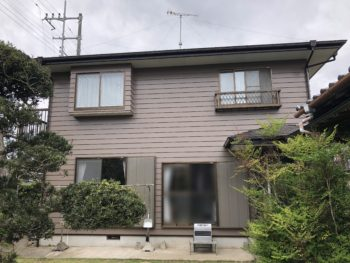 九十九里町 I様邸 外壁塗装 屋根塗装 施工事例