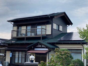 千葉市 O様邸 台風被害 火災保険 リフォーム ガルバリウム鋼板屋根 施工事例