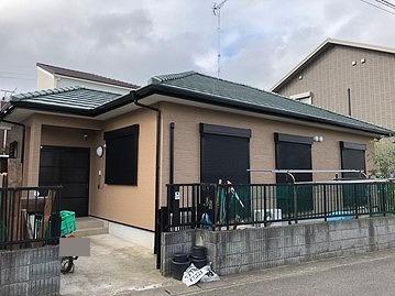 東金市 I様邸 外壁塗装 フッ素 ボンフロン 日本唯一の『暴露試験』で確かな品質!