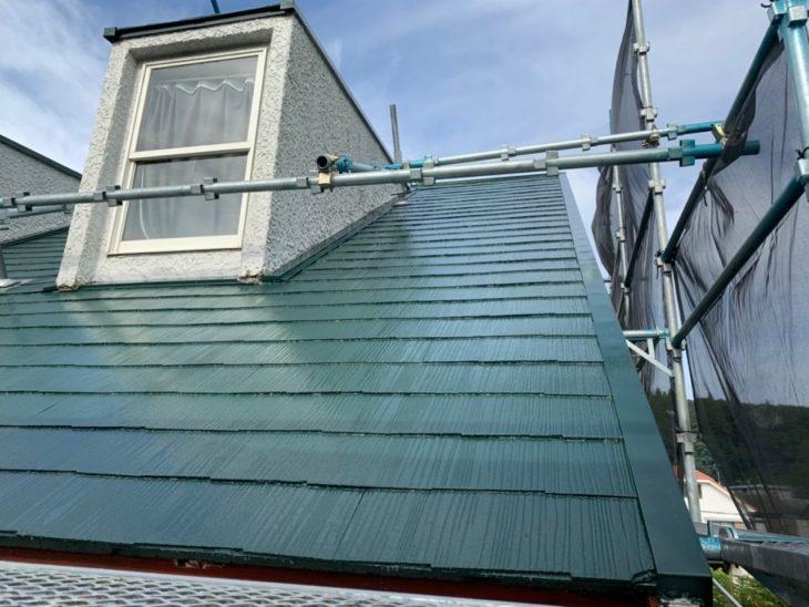 東金市 S様邸 屋根塗装 熱が籠りにくく素材を守る『遮熱塗装』 施工事例