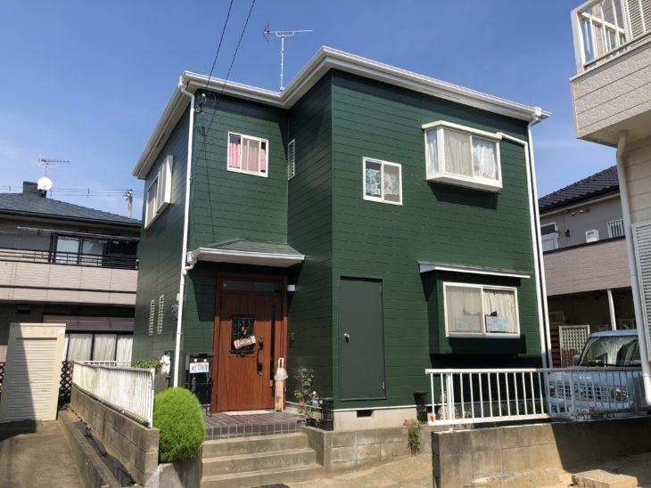 東金市 K様邸 外壁塗装 屋根塗装 大工工事 玄関ドア交換 施工事例