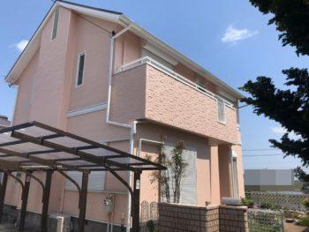 東金市 I様邸 外壁塗装 屋根塗装 壁リフォーム 金属サイディング ガルバリウム鋼板 FRP防水 施工事例