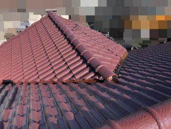 東金市 S様邸 屋根塗装 瓦塗装 水系シリコン 耐久性 耐変色性に優れた塗料 施工事例