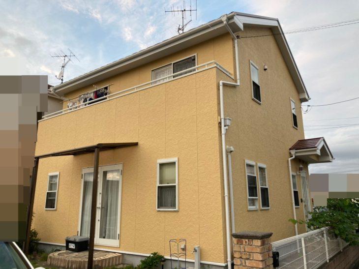 カラーシミュレーションでバッチリ! 質感もご要望通りの仕上がりへ 東金市 Y様邸 外壁塗装 屋根塗装 遮熱塗料 施工事例