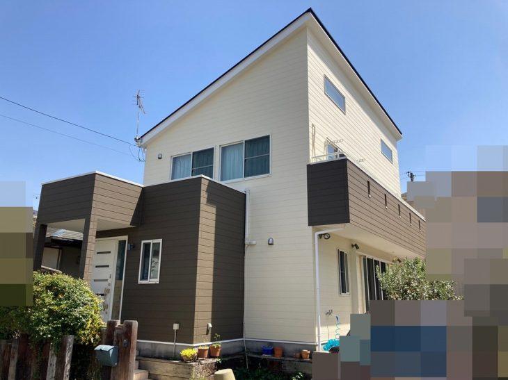 千葉県 大網白里市 S様邸 外壁塗装 屋根塗装 施工事例