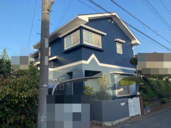 東金市 H様邸 外壁塗装 屋根塗装 木部 施工事例
