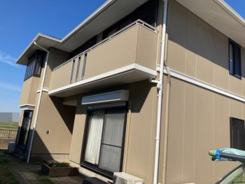 東金市 台方 S様邸 外壁塗装 屋根塗装 スレート瓦交換 施工事例